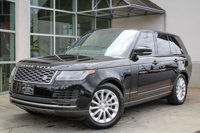 Range Rover Seattle >> Pre Owned 2018 Land Rover Range Rover Hse 4wd