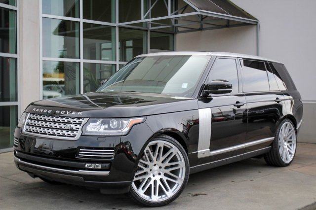 Range Rover Seattle >> Pre Owned 2015 Land Rover Range Rover Supercharged Lwb With Navigation 4wd