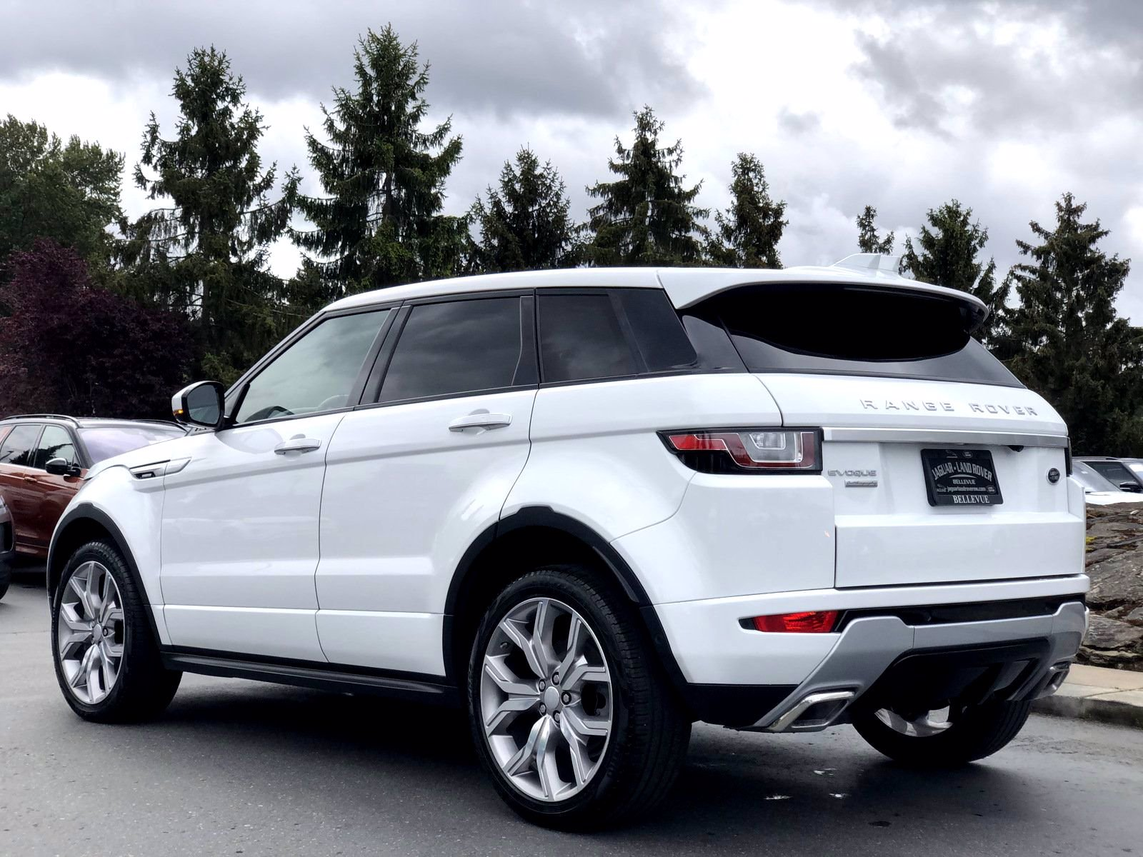 rover evoque range autobiography land certified owned pre 4wd navigation vehicle
