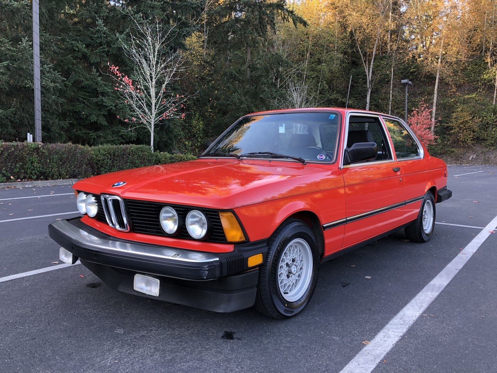 Pre-Owned 1982 BMW 320IS