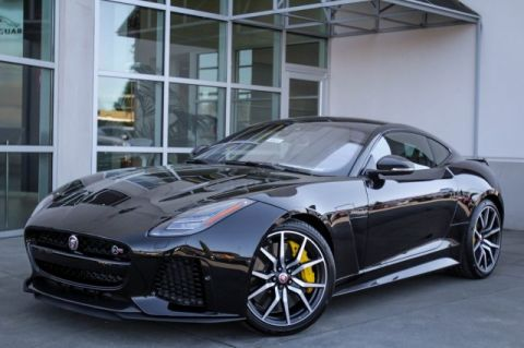 New 2019 Jaguar F-TYPE SVR