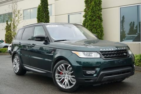 Pre-Owned 2016 Land Rover Range Rover Sport Supercharged Dynamic